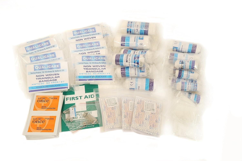QF1150R Qualicare First Aid Kit HSE 1-50 Person Refill Nightingale Nursing Supplies