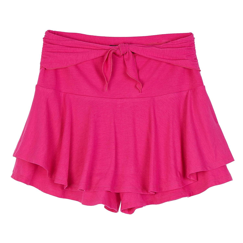 Amy Byer Girls Big Tie Front Skort Skirt 209337P