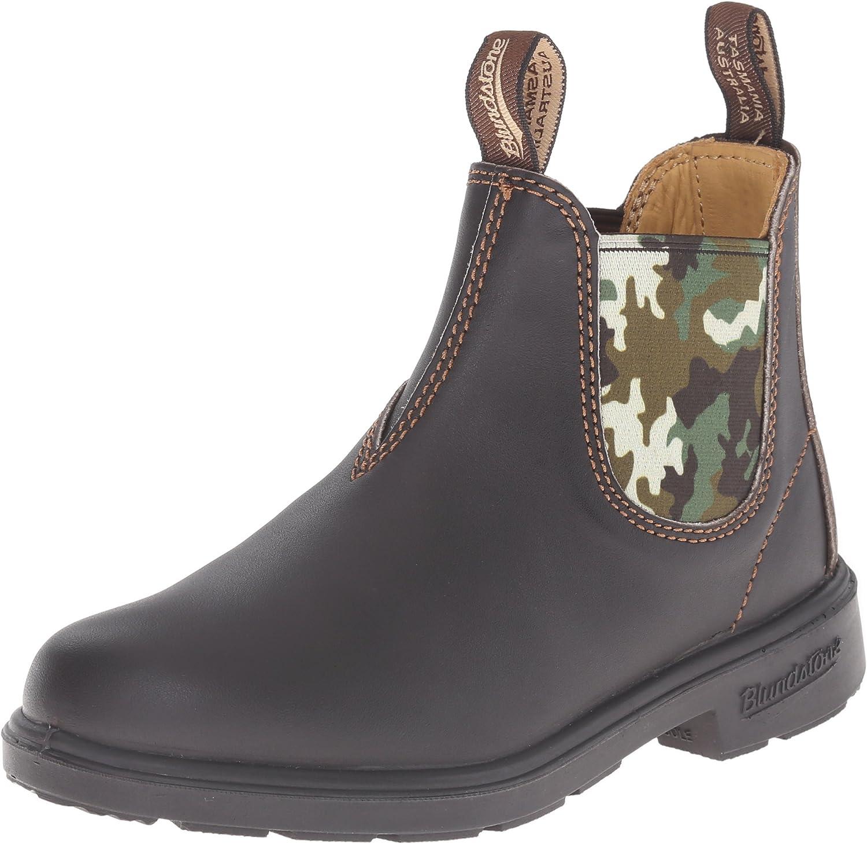Big Kid) Brown/Camo Boot AU