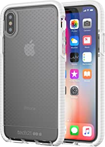 tech21 Evo Check Case for iPhone X - Clear/White