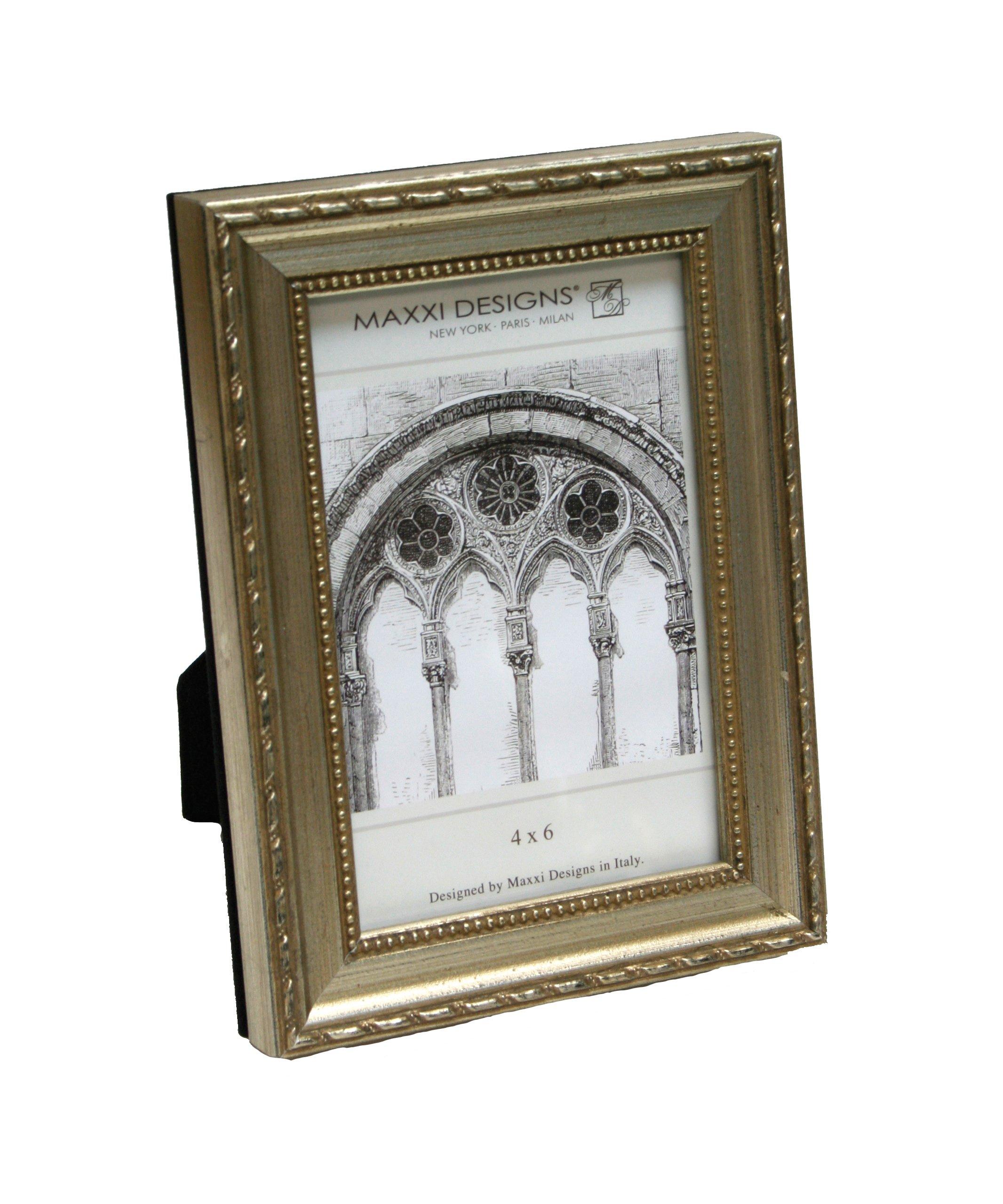 Maxxi Designs Arezzo Photo Frame 8'' x 10'' Antique Silver