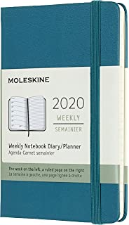 Amazon.com : Moleskine 2018 12 Month Weekly Planner Pocket ...
