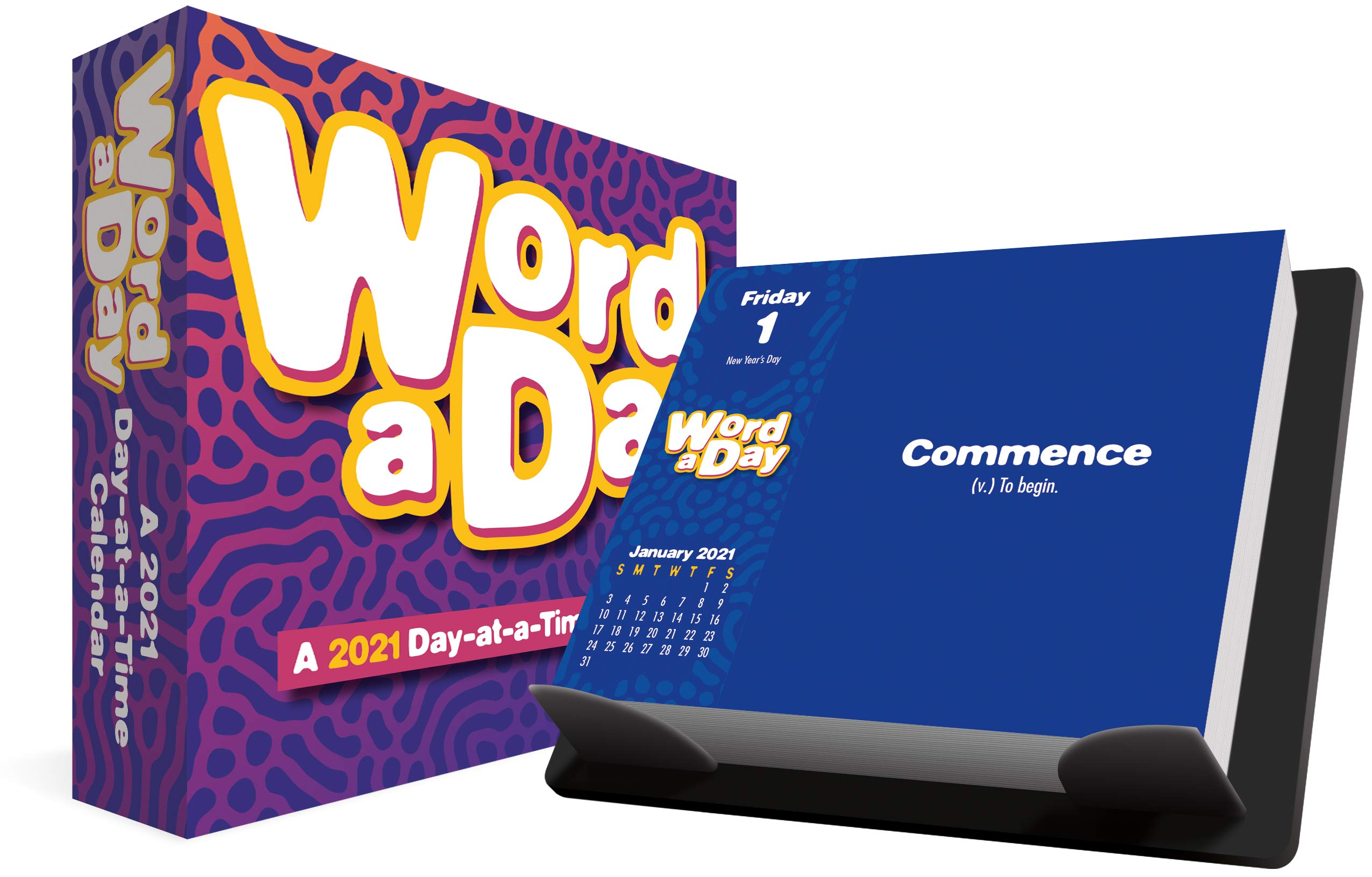 2021 Word A Day Day At A Time Box Calendar Trends International 9781438874159 Books