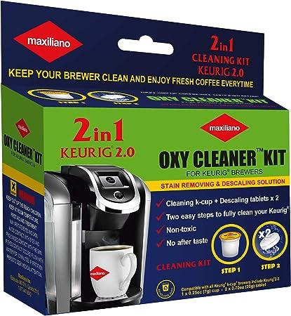 Amazon.com: Maxiliano Kit de limpiador de oxígeno 2 en 1 ...