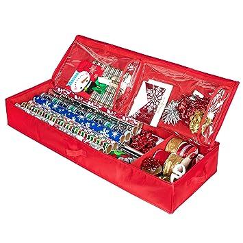 Amazon.com: Organizador de almacenamiento de Navidad ...