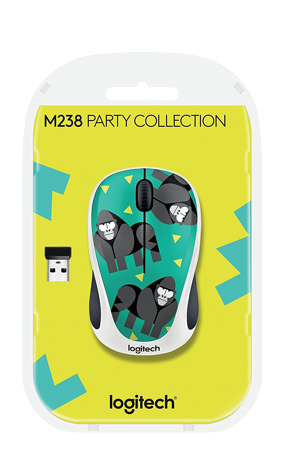 Logitech 910 004715 M238 Wireless Mouse Party Computer Collection Toucan Zubehr