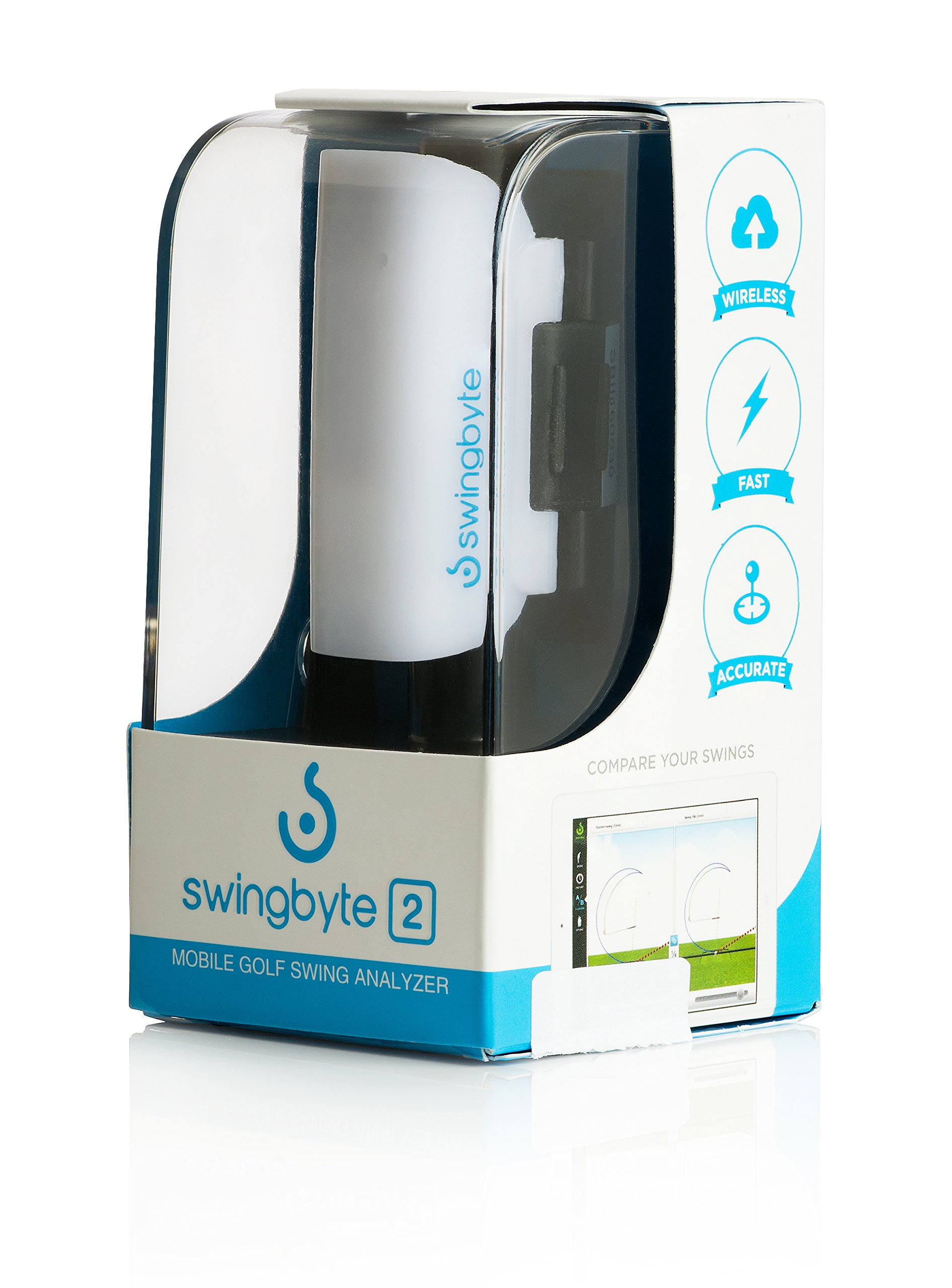 Swingbyte 2 Golf Training Device - Golf's Most Trusted Mobile Swing Analyzer - Includes Mobile App for iPhone and Android by Swingbyte (Image #2)