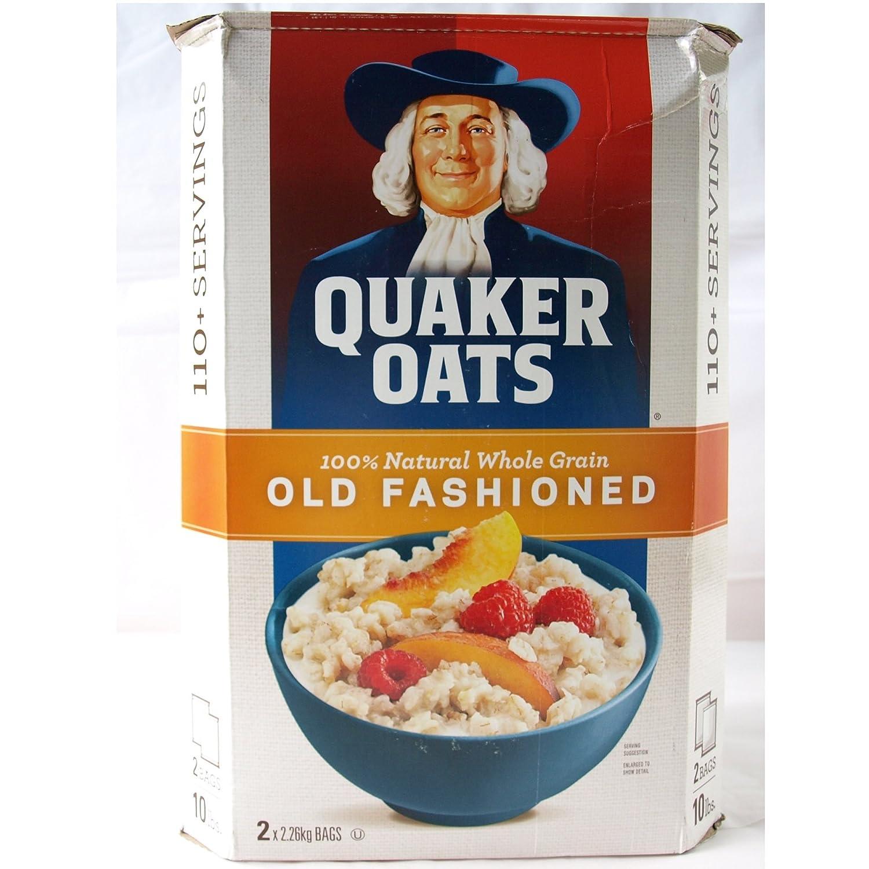 Quaker Oats Quaker Avena Old Fashioned paquetes incluyen 4.52kg 2.26kgX2: Amazon.es: Alimentación y bebidas