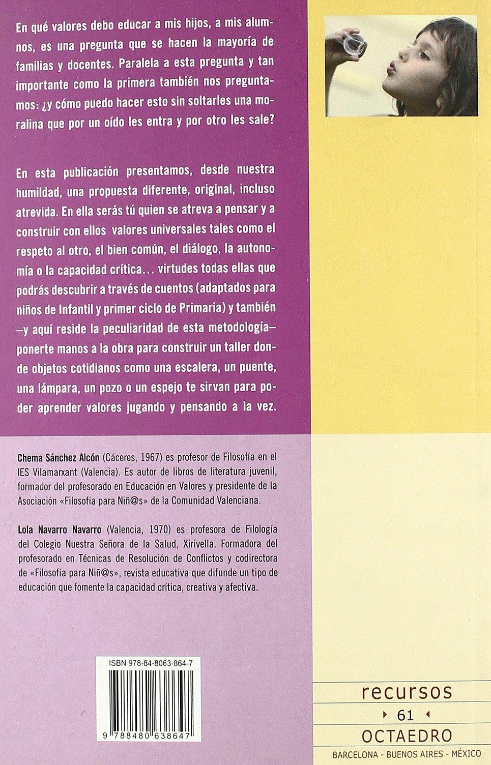 Como Educar En Valores Civicos a Los Peques?: Chema SÁNCHEZ ALCÓN: 9788480638647: Amazon.com: Books
