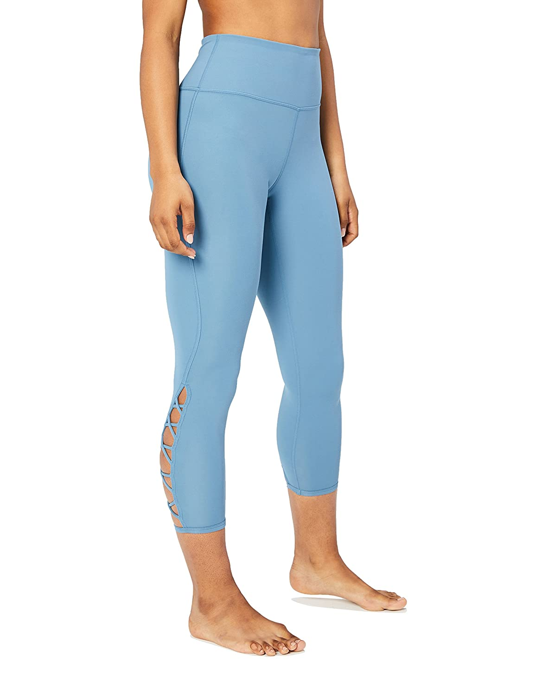 Core 10 Leggings 7/8 per Yoga Dettaglio Incrocio Donna WAI18020_B