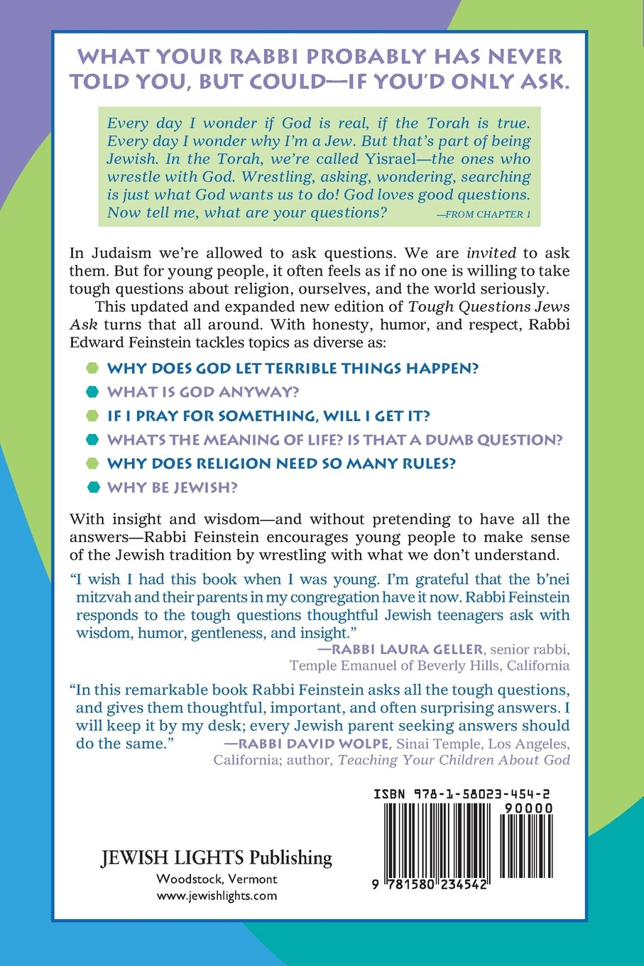 Tough Questions Jews Ask 2/E: A Young Adult's Guide to Building a Jewish Life