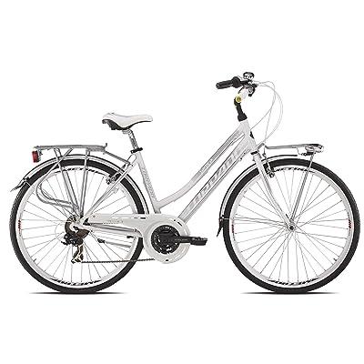 """'Torpado vélo City fenice Next 28""""Femme Alu 3x 7V taille 48Blanc (City)/Bicycle City fenice Next 28Lady alu 3x 7S Size 48white (City)"""
