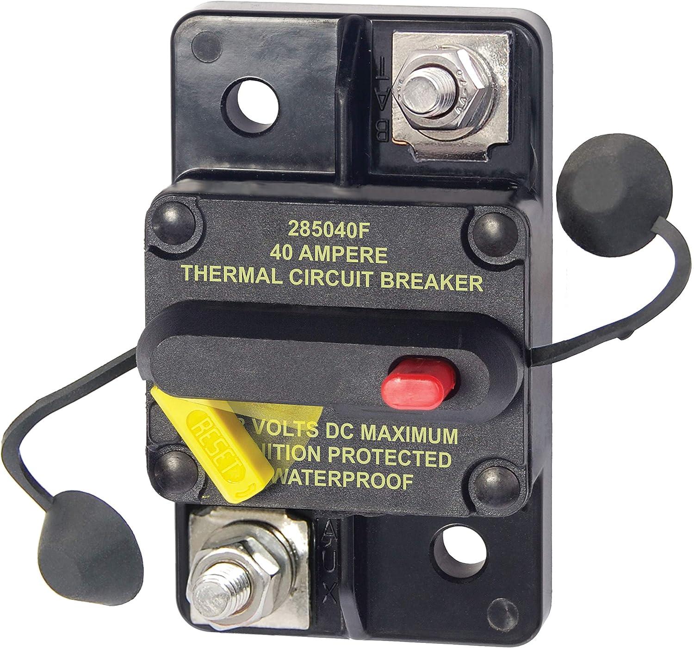 Blue Sea Systems   40 40 Series, 40 Series & Klixon Circuit Breakers,  40A