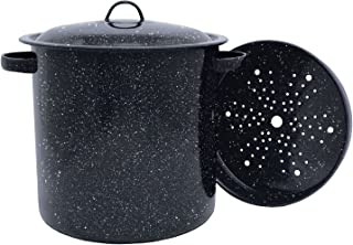 product image for Granite Ware Tamale Pot with Steamer Insert, 15.5-Quart