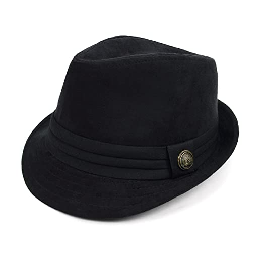 Men s Regal Suede Fall  Winter Fedora at Amazon Men s Clothing store  7344f5793bc