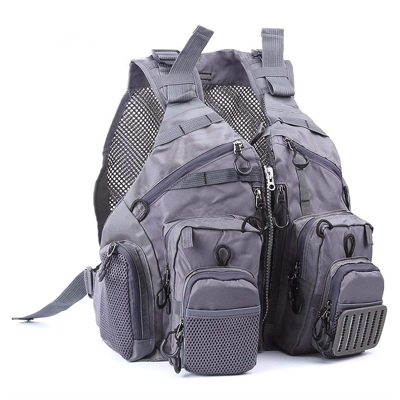 M maximumcatch Maxcatchフライフィッシングベスト調整可能サイズwith通気性メッシュ  G-Mesh Fishing Vest B07F9SFYWP