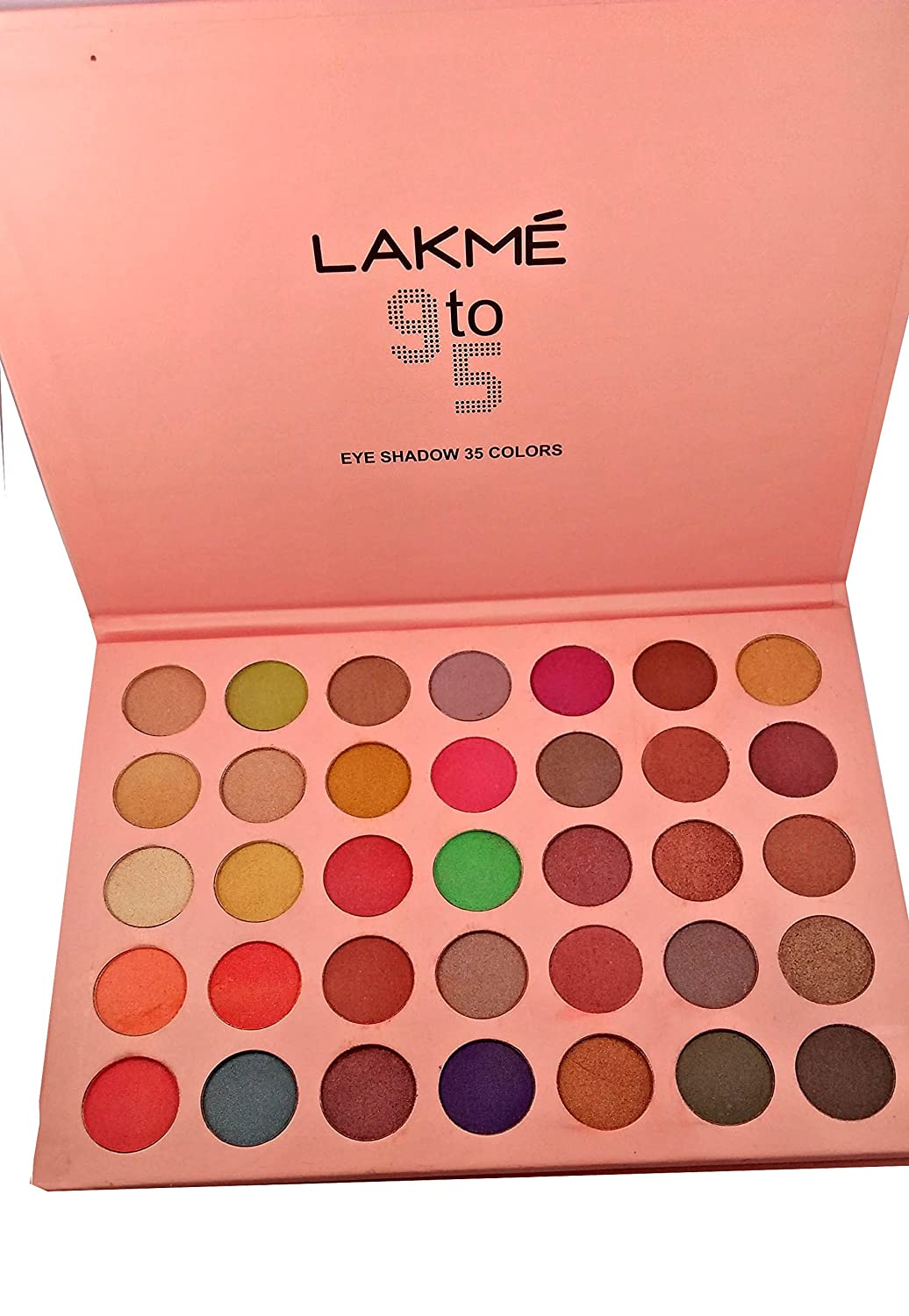 Buy Lakme 9 TO 5 Makeup Kit Colorfull Dazzling Shine 48 Colors of Eyeshadow, 3-Colors Blusher and One Color Compact Powder Cake Online at Low Prices in ...