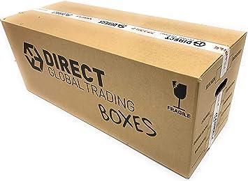 15 fuerte grande largo Fuerte mudanza de embalaje cajas de cartón doble pared, 35.4