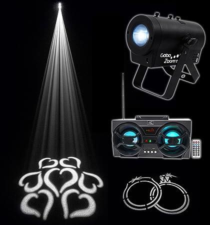 Amazon.com: Chauvet DJ Gobo Zoom USB Custom Gobo Proyector ...