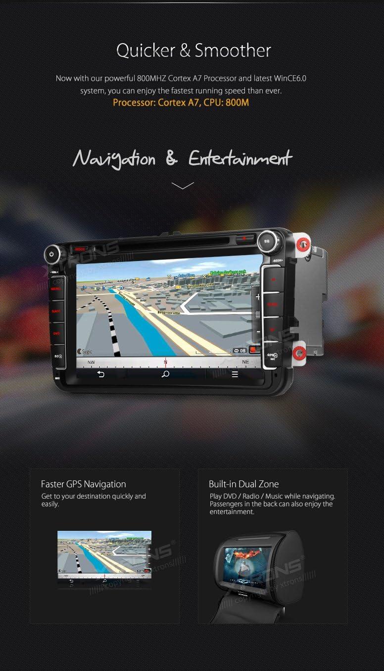 Xtrons 8 Hd Touch Screen Autoradio Mit Windows Ce Elektronik