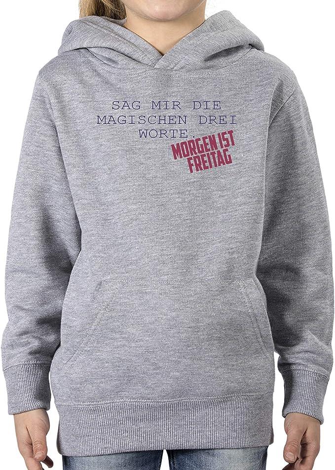 Comedy Shirts - Sag Mir die magischen DREI Worte. Morgen
