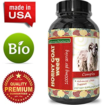 Horny Goat Weed Extract - Libido Supplement for Men & Women - Boosts Sex  Drive &