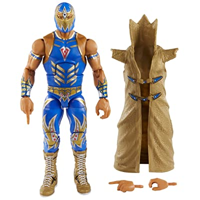 WWE Gran Metalik Elite Collection Action Figure: Toys & Games
