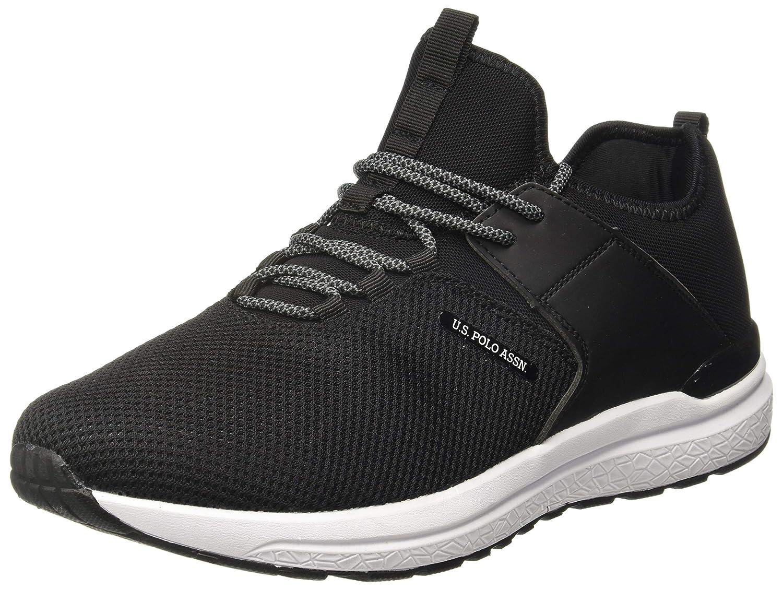 US Polo Association Men's Trevor Leather Sneakers – Size 6, 7