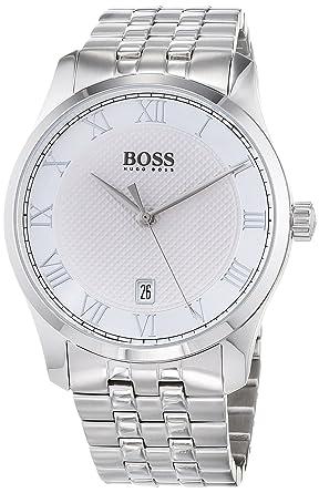 97fddd35d119 Hugo BOSS Reloj Analógico para Hombre de Cuarzo con Correa en Acero  Inoxidable 1513589  Hugo Boss  Amazon.es  Relojes