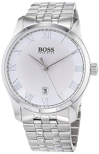 3353f8cf03 Hugo BOSS Unisex-Adult Analogue Classic Quartz Watch with Stainless Steel  Strap 1513589: Hugo Boss: Amazon.co.uk: Watches