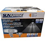 Sunforce Solar Triple Head Motion Activated Security Light 1500 Lumens