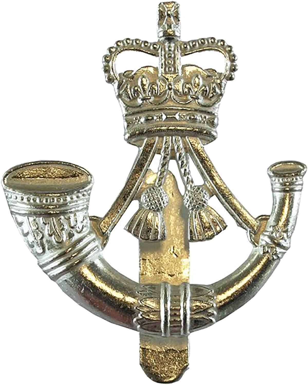 British Army Pin Badge The Rifles Bugle Insignia