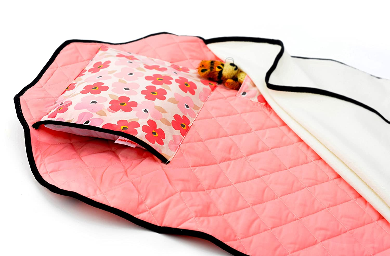 Amazon.com: Tot Cuna Guardería Nap Mat, Poppies: Baby