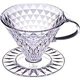 キーコーヒー クリスタルドリッパー