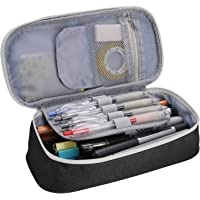 Pen Case Pencil Bag, ProCase Portable Pencil Pouch Stationery Holder Storage Organizer Big Capacity for Pens Pencils…