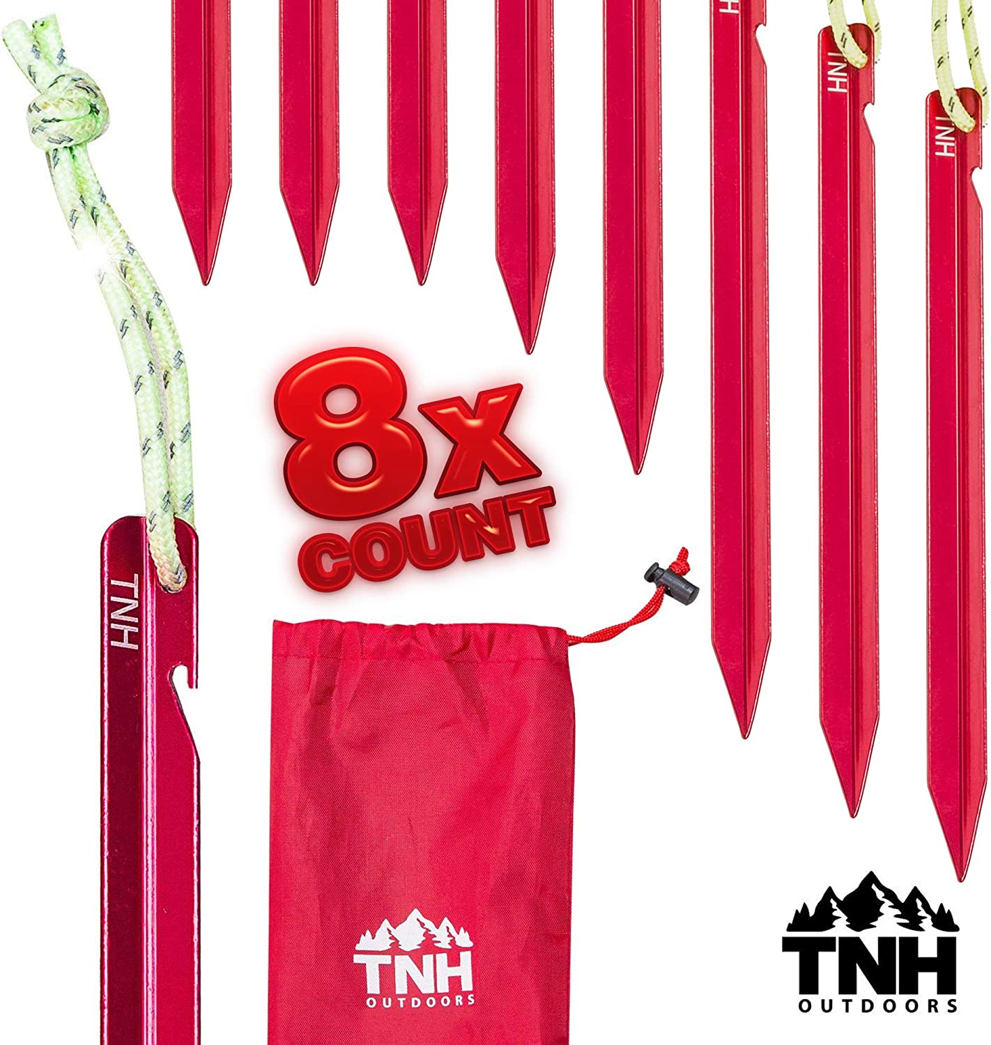 TNH Outdoor Aluminum Tent Stakes
