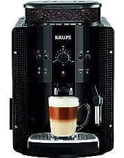 Krups Roma EA8108 - Cafetera automática, 15 bares de presión, molinillo de café cónico