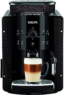 Krups Roma EA810870 - Cafetera Superautomática, 15 Bares, Molinillo de Café Cónico de Metal, con…