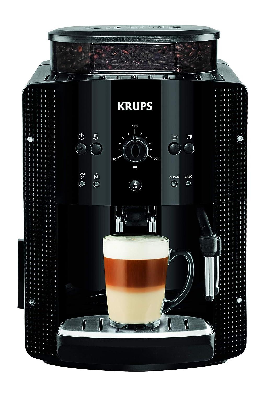 Krups Roma EA8108 - Cafetera súper-automática, 15 bares de presión,...