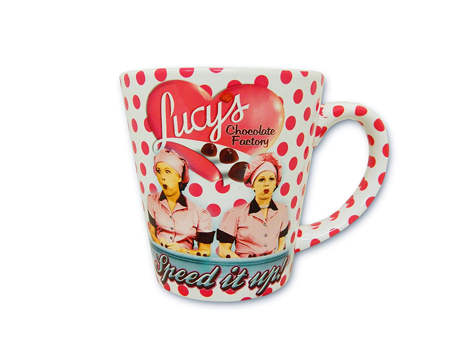 I Love Lucy Mug Chocolate Factory