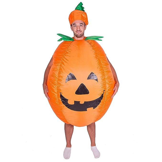 Amazon.com: Disfraz de calabaza hinchable adulto Halloween ...
