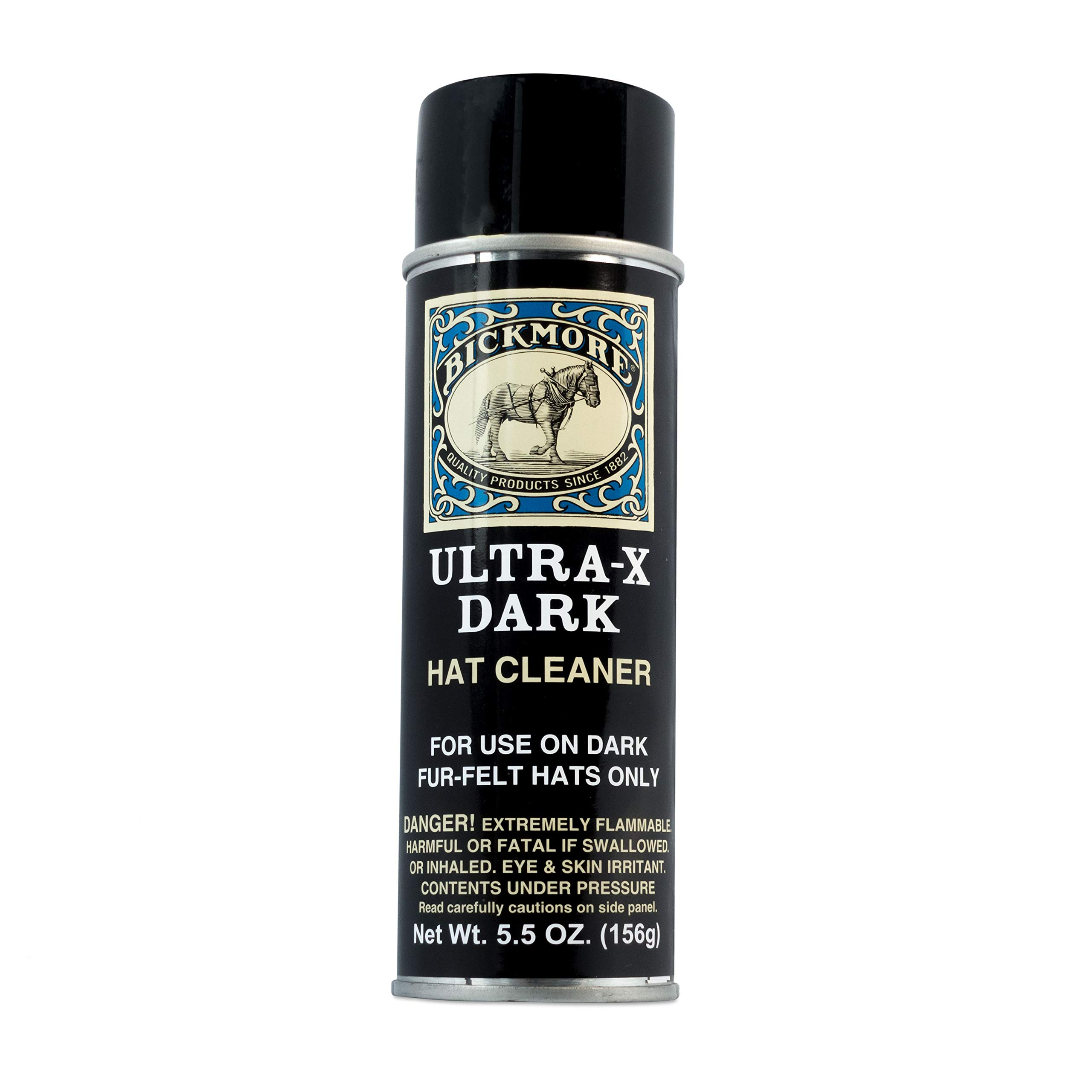 Bickmore Ultra-X Powdered Dark Hat Cleaner Kit - Remove Dirt, Dust, Fingerprints & Sweat Stains - Great for Fur - Felt Cowboy Hats, Baseball Hats, Fedoras, Sun Hats & More by Bickmore (Image #2)