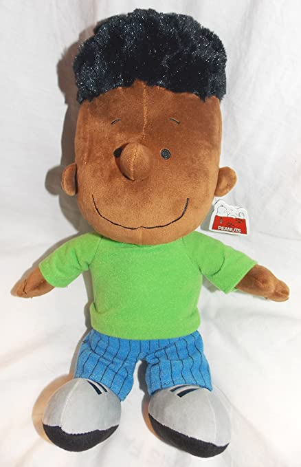 Amazon Com Peanuts Plush Stuffed 13 Franklin Doll Toys Games