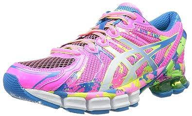 ASICS Women's Gel-Sendai 2 Running Shoe,Hot Pink/White/Flash Yellow