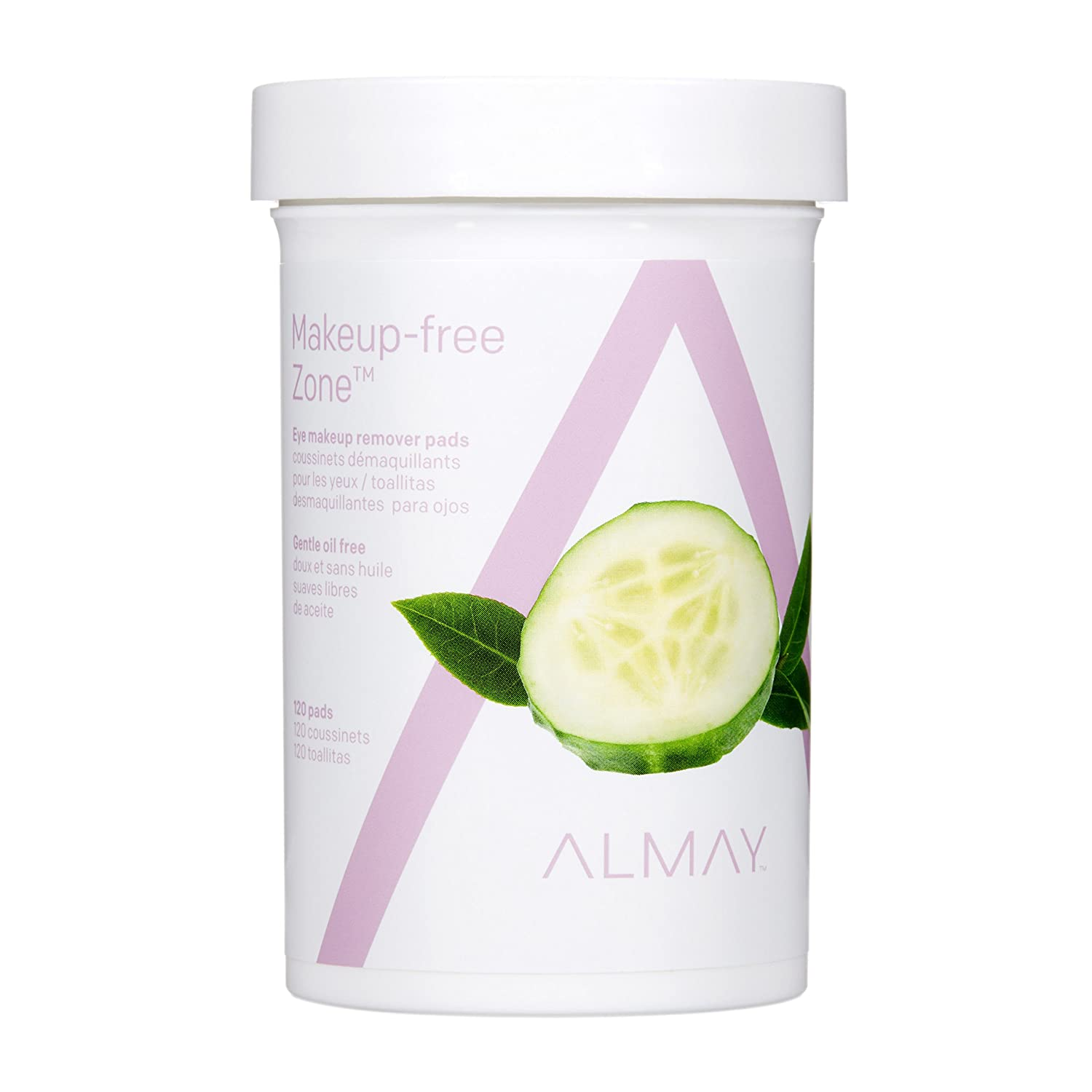 Almay Oil Free Gentle Eye Makeup Remover Pads 120 Ct by Almay Almay Cosmetics 7415-71
