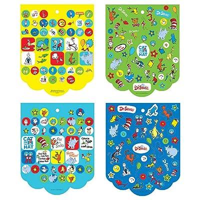 "Dr. Seuss Party Sticker Book, Party Favor, 10"" x 8"", 350 Ct.: Toys & Games"