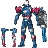 Marvel Iron Man 3 Avengers Initiative Assemblers Interchangeable Armor System Iron Patriot Figure