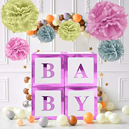 Gender Neutral Baby Shower Decorations  from images-na.ssl-images-amazon.com