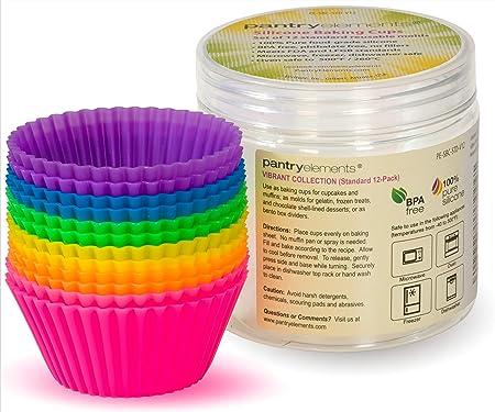 Amazon.com: Pantry Elements - Moldes de silicona para ...