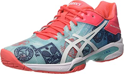 Disco retroceder Narabar  Asics Gel-Solution Speed 3 L.e. Paris, Zapatillas de Deporte Mujer,  Multicolor (Diva Blue/White/Dive Pink), 39.5 EU: Amazon.es: Zapatos y  complementos